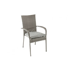 Hot selling outdoor and indoor furniture of garden rattan High back PE wick chair