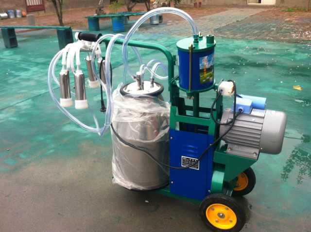 Piston single cow milking machine,small milking machine
