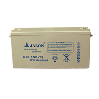 Jalon ups agm battery accumulator sealed lead acid battery 12v150ah
