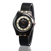 fashion interchangeable watch mesh woman quartz watches