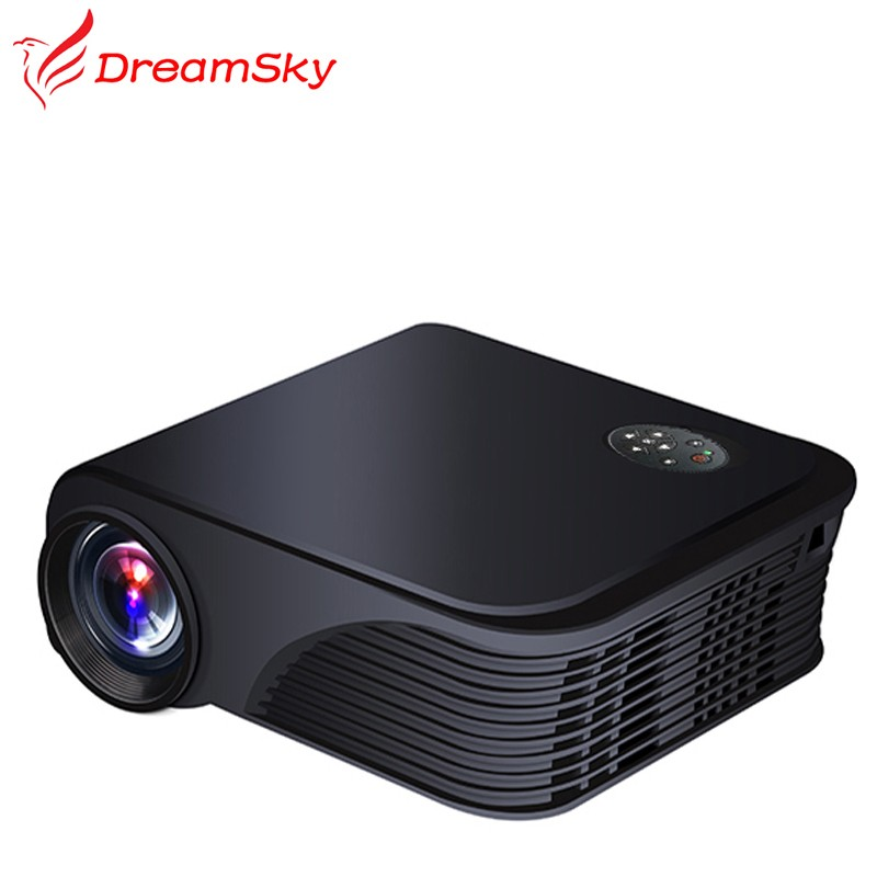 Cheap 1800 Lumens 800x600 pixels Micro Mini LED HDMI USB VGA AV PC Home Theater Game Projector Beamer