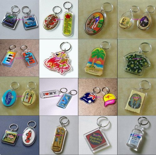 Acrylic Key Chain / Key Ring