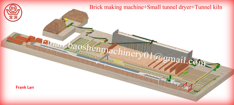 2017 china Best red clay brick making machine/china clay brick machinery