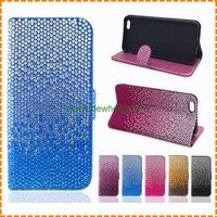 cheap PU diamond wallet leather phone case for iphone 7 7 plus