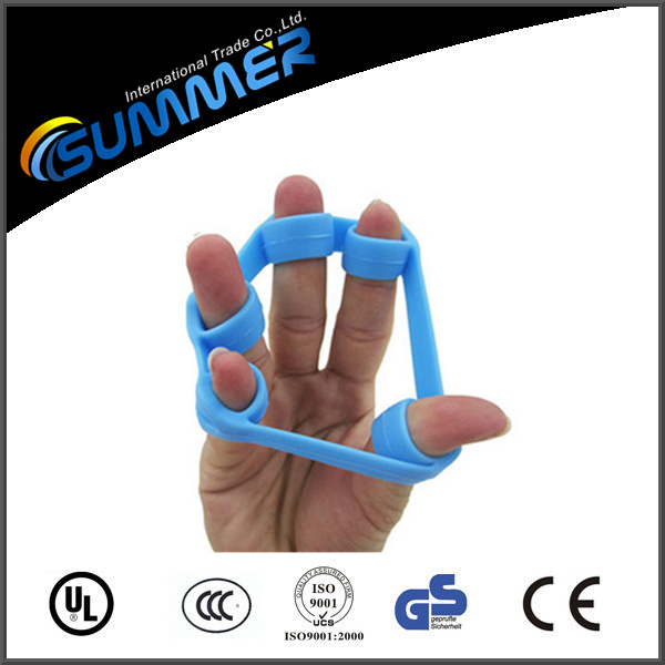 Finger Exerciser Hand Grip Strengthener & Finger Stretcher - Strength Trainer for Forearm Exercise