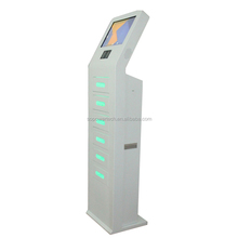 swiping card finger print code together high security phone charging station
