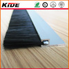 Aluminum door bottom brush seal draught excluder