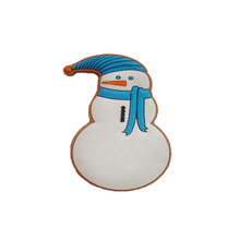 Trade assurance custom pvc snowman fridge magnet