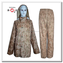 raincoat factory superior desert military waterproof rain suits