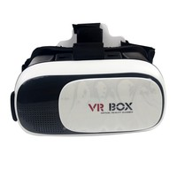 Cheapest High quality vr box 2.0 virtual reality 3d glasses with controller