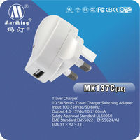 China Factory!UK home charger for iphone5 passed CE