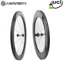 Mixed 60mm 88mm carbon wheels for road bike, China cheap bicycle carbon fiber 700c wheelset