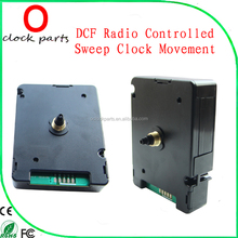 DCF Radio Controlled Wall Sweep Clock Movement RC Clock Movement