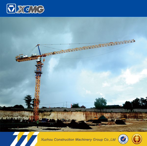 XCMG official manufacturer QTZ500(7550-25) moving luffing jib tower crane price