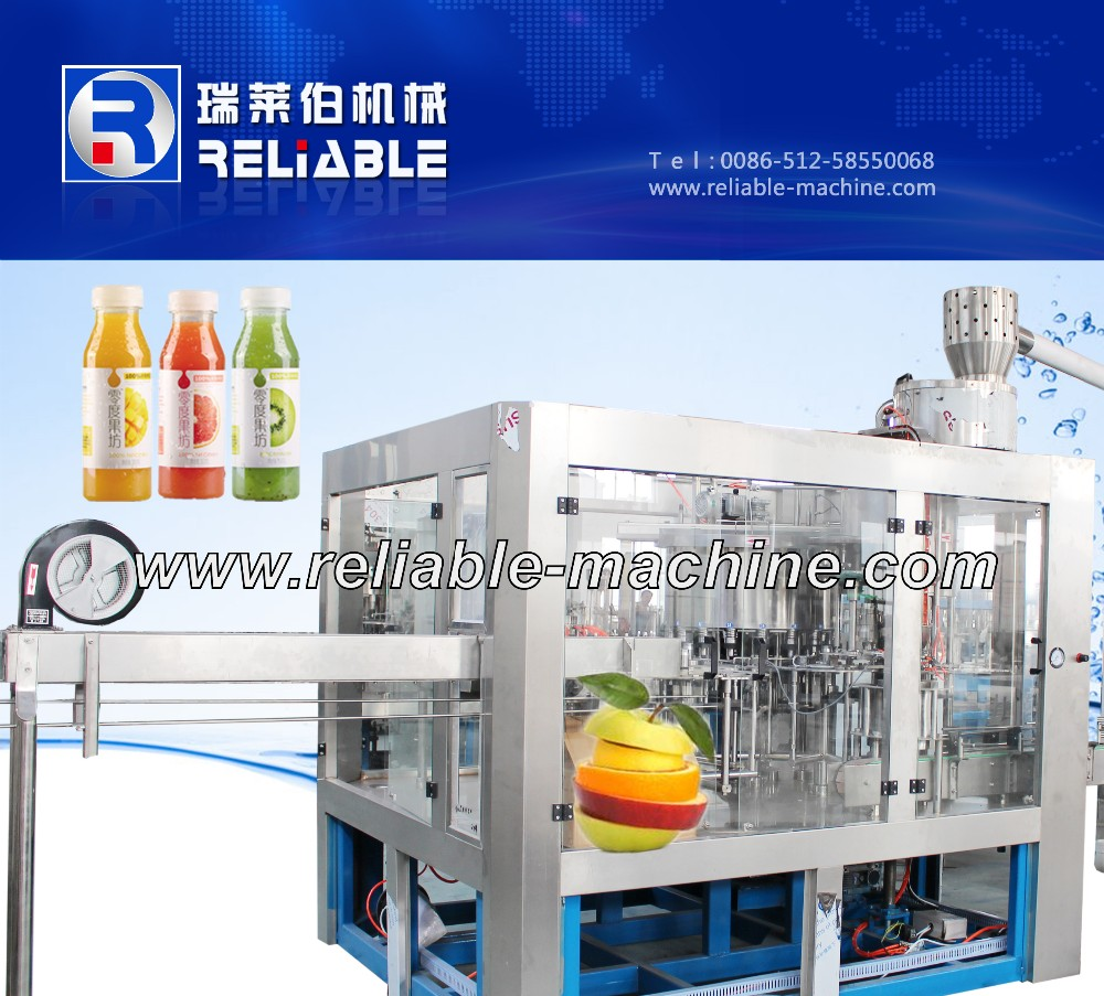 Automatic Bottle Ice Tea Filling Machine Supplier