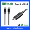 High speed dual Hub USB3.1 Type C cable