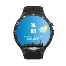 Original KW88 Smart Watch Android 5.1 1.39 inch Amoled Screen 3G Smartwatch Phone MTK6580 Quad Core 1.39GHz 512MB RAM 4G ROM