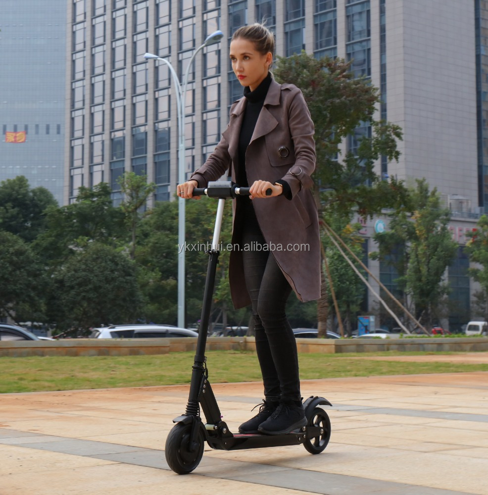 Smart electric stand up scooter on 2 wheels for <strong>city</strong> commuting