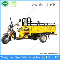 Hot selling High quality Heavy duty 3 wheel electric tricycle