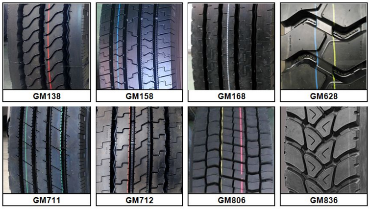 truck tire manufacture Transking brand tire low profile for sale