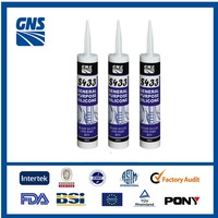 anti fungus acetic silicon sealant sauage and cartridge packing