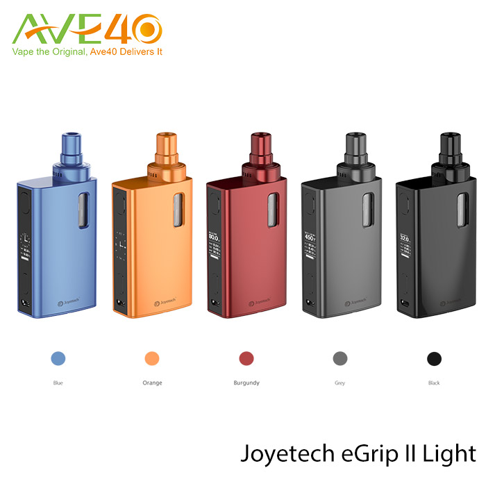 Real Time Clock Display and Game Mode Electronic Cigarette 80W eGrip 2/Joyetech