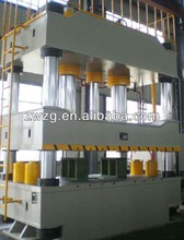 ZHONGWEI 3000 tons Four Column Deep Drawing Hydraulic Press for TUV ISO certification