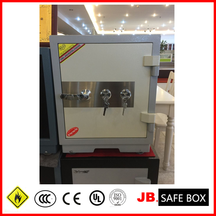 {JB}Double Key Lock Safe Box with metal personal use