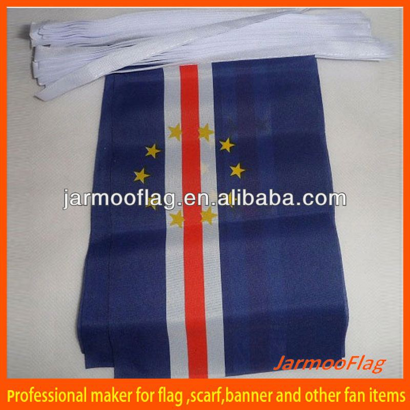 county flag world cup cape verde bunting