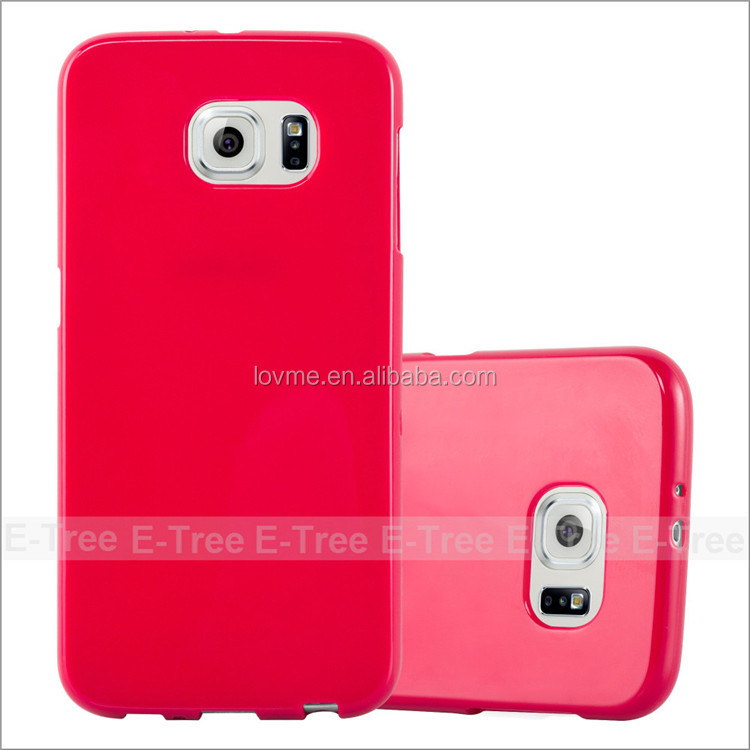 Jelly Glossy Silicon Tpu Cover Case For Samsung Galaxy S5 Phone case