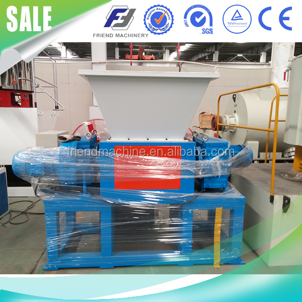 Double Shaft Shredder Machine/Plastic Shredding Machine