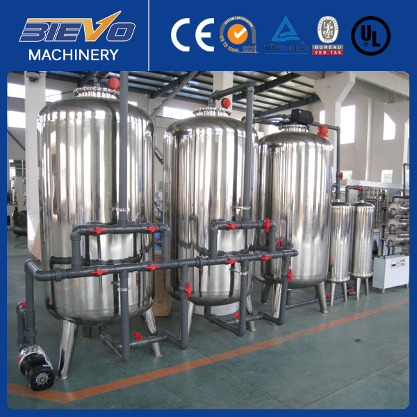 Commercial drinking water purification system/plant