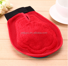 Pet Dog Cat Glove Comb Relax Muscles Massage Bath Cleaning Brush Hair Grooming Shower Brush Glove