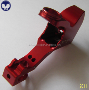 Custom anodized aluminum bicycle parts