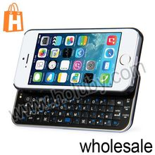 Wireless Bluetooth Keyboard Case for iPhone5 5s