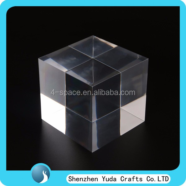 High Transparency Blank Block Thick Clear Square Acrylic Blocks