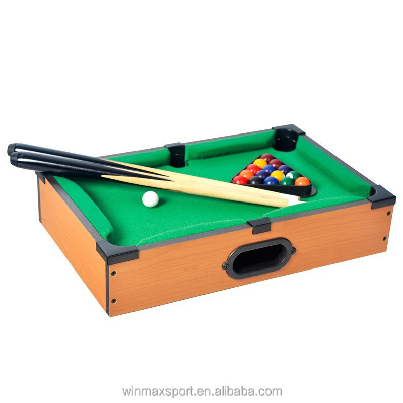 Mini children playing billiard snooker game pool table/Cheap Mini pool table for sale
