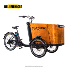 CE family adult three wheel cargo drift trike electric reverse trike for sale