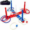 Wholesale Premium Ring Toss Game Set - Includes 8 Rope & 8 Plastic Rings - Great Party Game or Gift for Adults and Kids