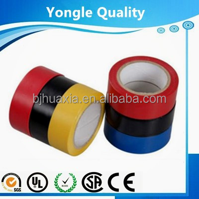 Can be used indoor and outdoor pvc elecrical tape with highly conformable