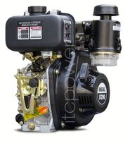 D200 (4hp) Diesel Engine, air cooled ,1-cylinder 4 stroke diesel engine for sale