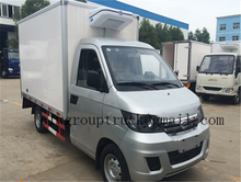 chinese brand Karry mini 1-5 ton refrigerated cold room van truck