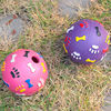 2014 new! Eco-friendly Rubber toy half ball, children hollow rubber ball, rubber ball for handball