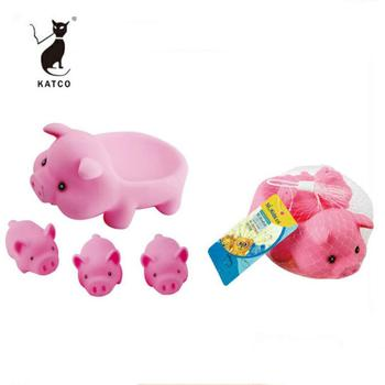 Shantou Factory Wholesale Baby Eco-friendly Soft Plastic Cute Animal Bath Toy Animal For Kid