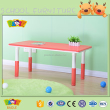 Kids school desk table and chair set for children study