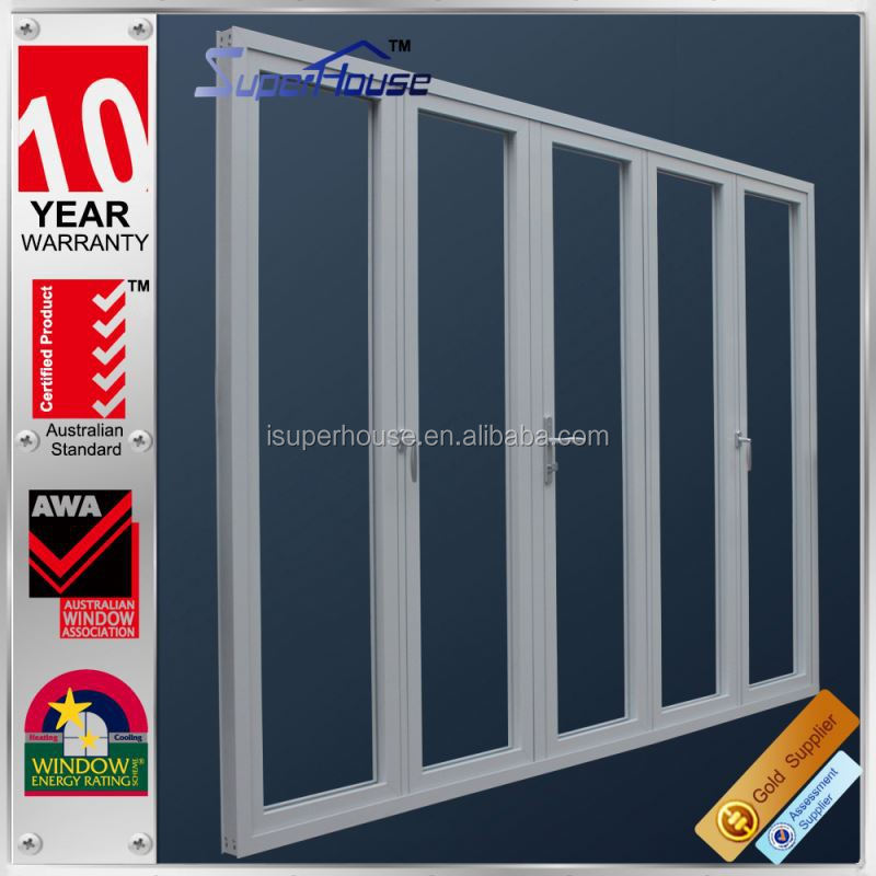 Superhouse 10 years warranty Australian and New zealand standard fixed aluminum louvered door
