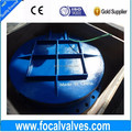 Brass Sealing Cast Iron Flap Valve Metal Flap Valves