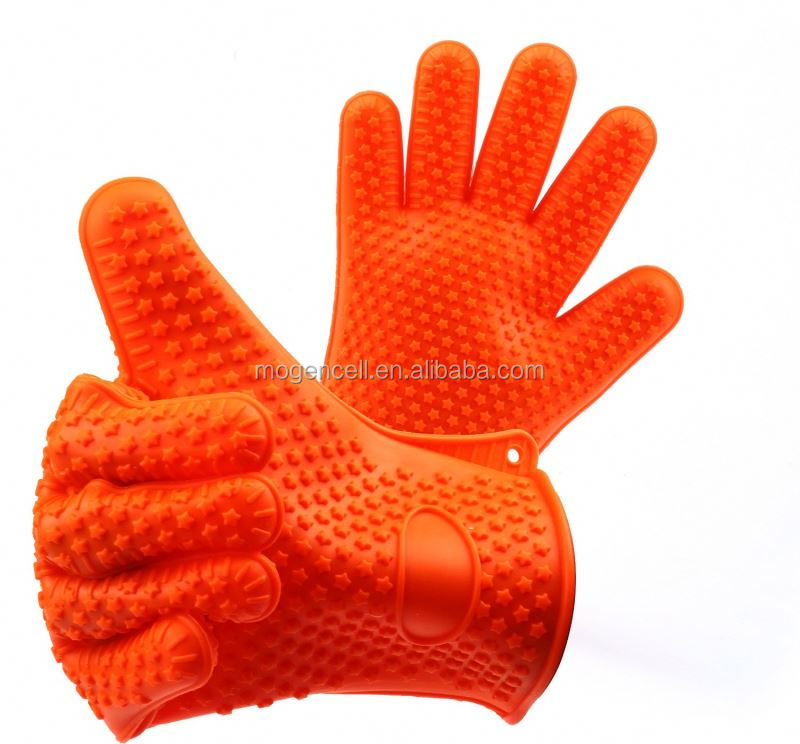 non stick silicone glove silicone baking glove for bakery