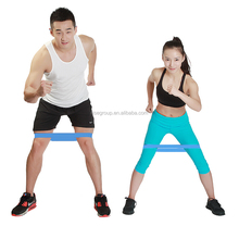Fitness exercise stretch resistance band loop