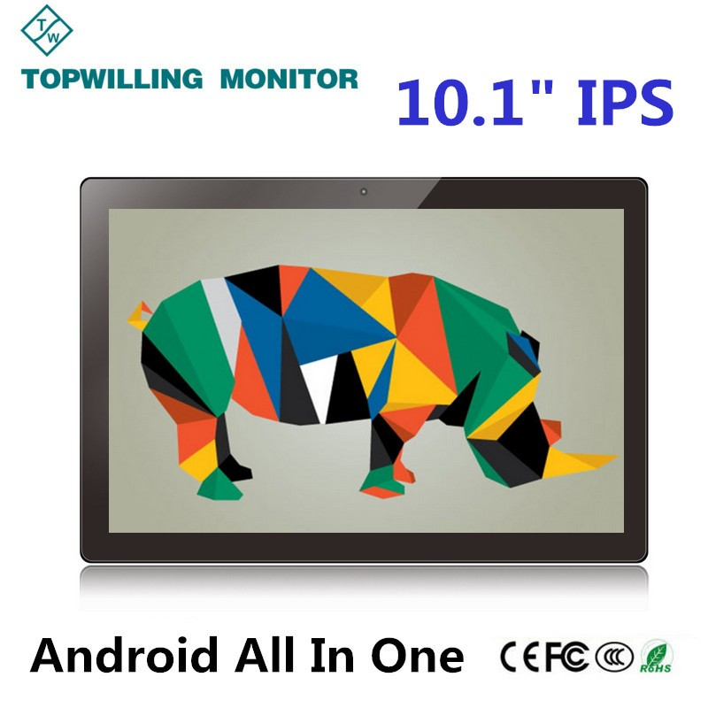 Wall Mounted 10.1 inch Android 5.1 Tablet All in One PC